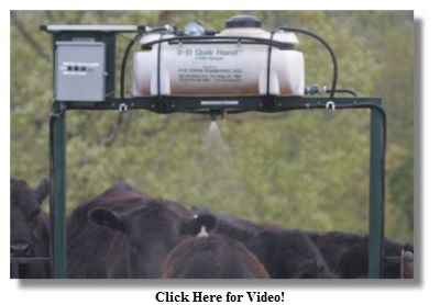 Automated Fly Control for Cattle